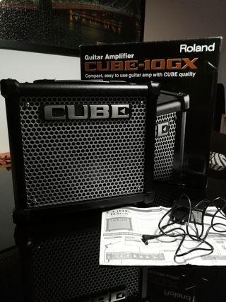 Amplificador guitarra Roland Cube 10gx