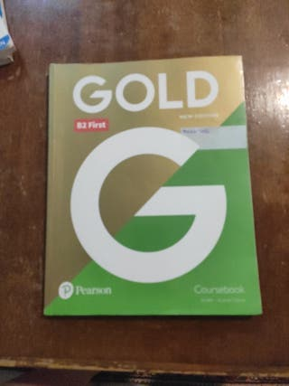 libro de ingles gold B2 first