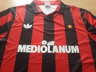 Camiseta retro AC Milan 1992