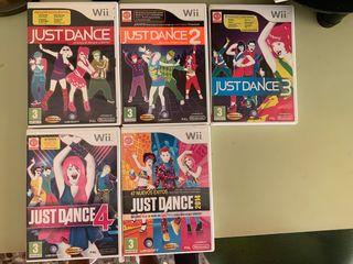 5 juegos Just Dance para la Wii