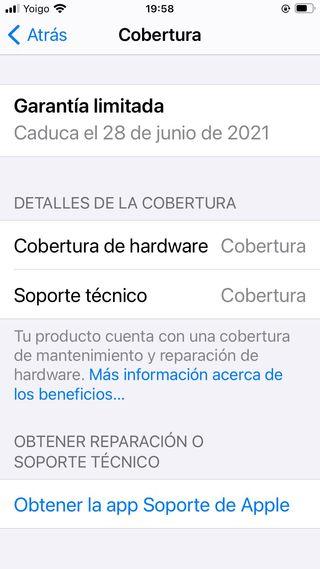 iphone SE 2020 rojo