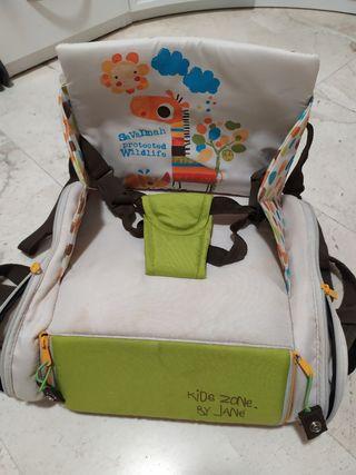 Trona mochila de viaje