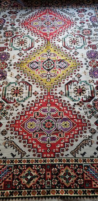 Autentico Tracio Kilim,alfombra lana hecha a mano