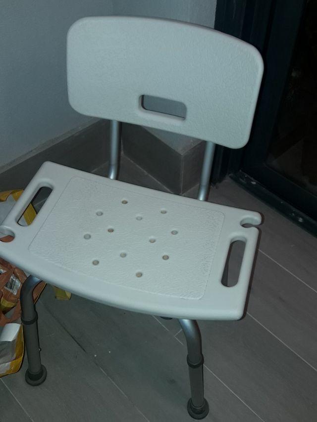 silla ducha discapacitado