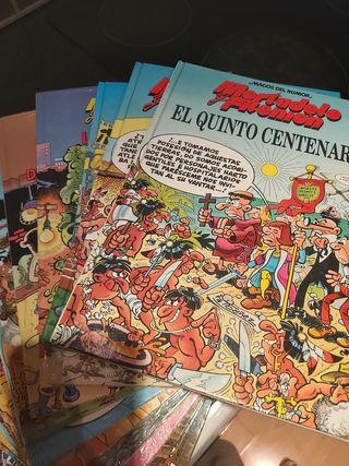 còmics Mortadelo y filemon