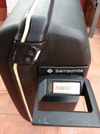Maleta rígida Samsonite usada