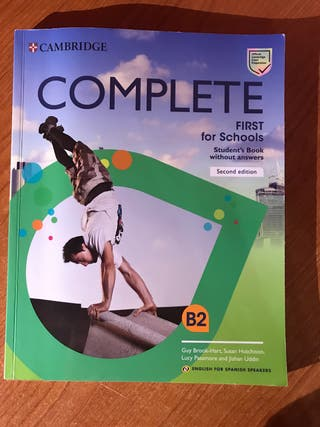 Libro Cambridge Complete First