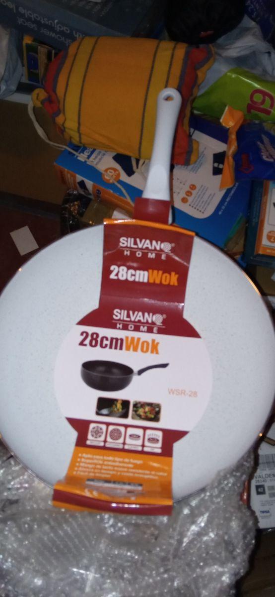 sartén wok 28 cm