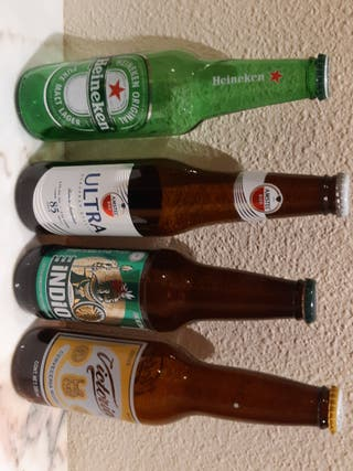 Botellas cerveza Mexico