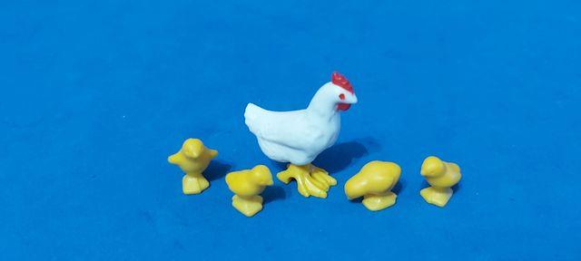 Playmobil Gallina y 4 Pollitos