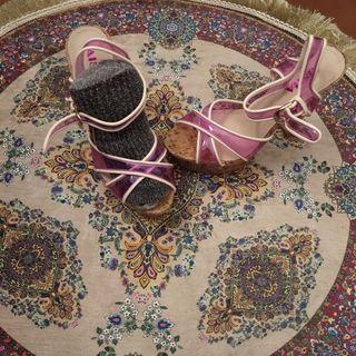 Zapato sandalia tacón 37
