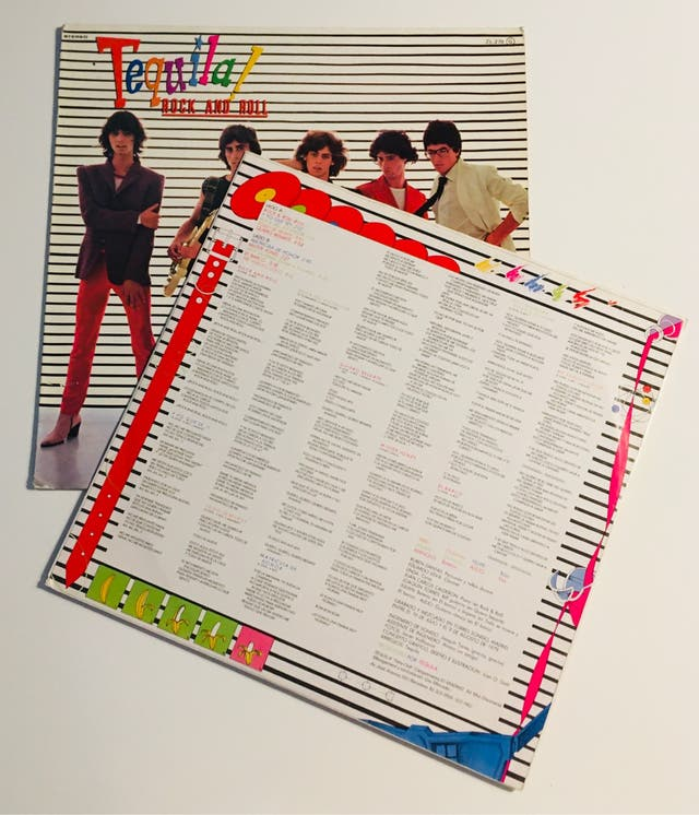 TEQUILA : Rock and Roll Disco Vinilo LP