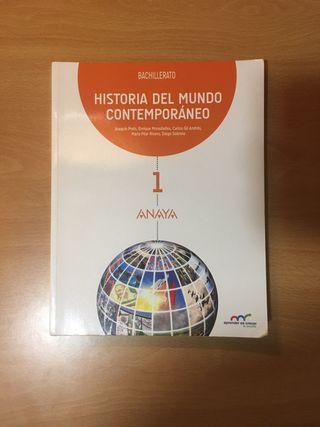 Libro de Historia del Mundo Contemporáneo.