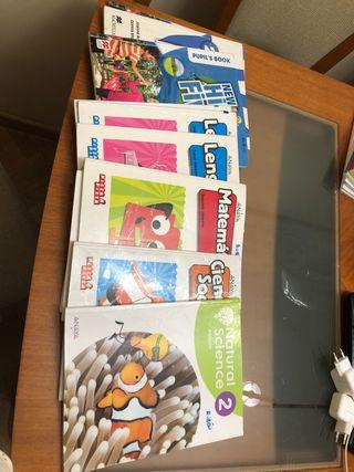 Libros de segundo de primaria