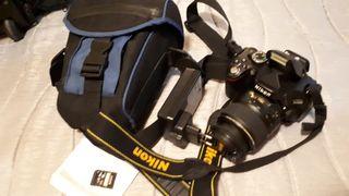 cámara fotos Nikon d5100