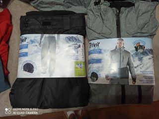 traje ski hombre crivit talla 48 nuevo