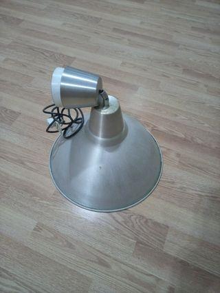 Lámpara techo metalizada