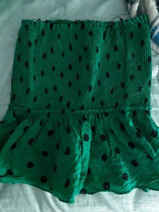 falda zara lunare