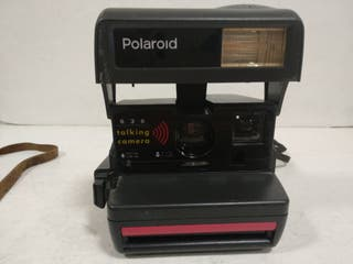 Camara POLAROID 636 TALKING CAMERA.1995.Funciona