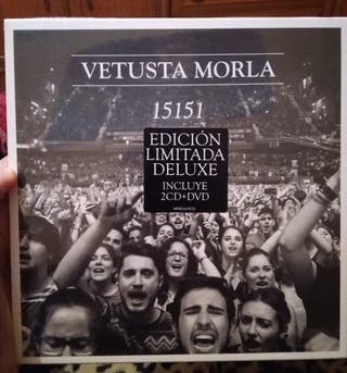 Vetusta Morla 15151 Edición Limitada 2 CD + Dvd
