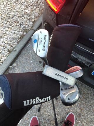 7 palos de golf