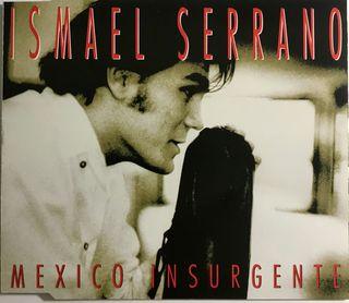 CD Single Ismael Serrano Mexico Insurgente