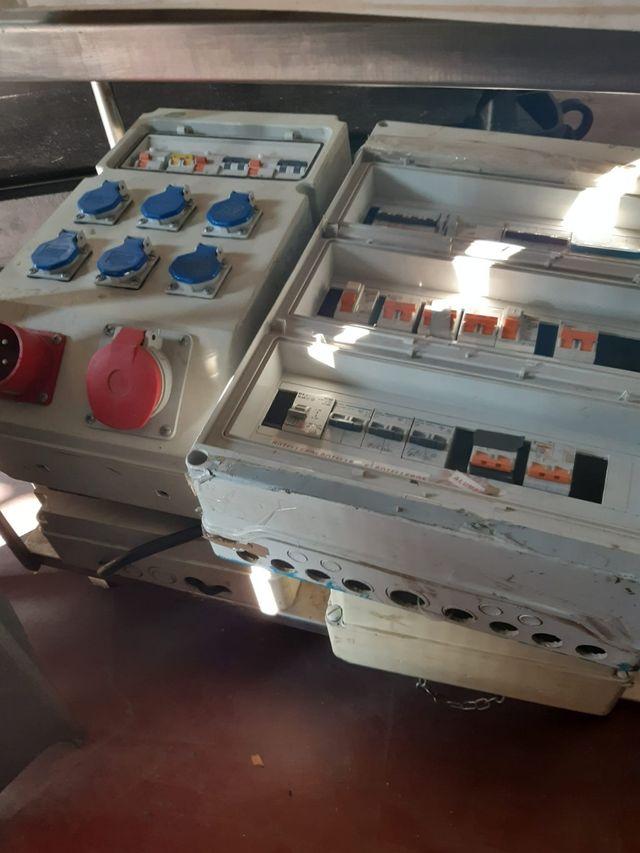cuadros eléctricos móviles