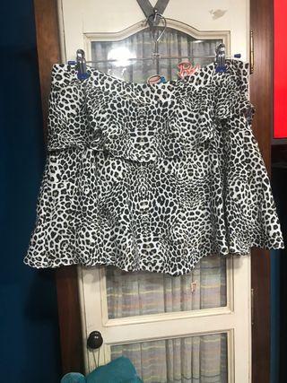 Falda pantalón Zara talla L nueva