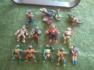 Tortugas Ninja. Originales. Bandai