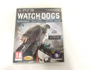 Videojuego Ps3 Watch Dogs