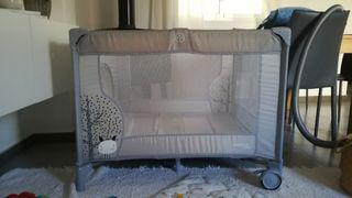 Parque para bebés cuadrado Asalvo Nordic