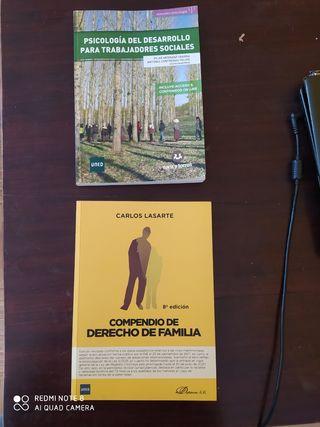 UNED trabajo social derecho familia psicología