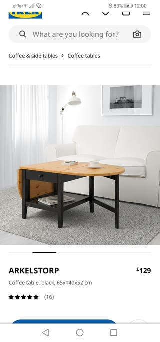 coffee table form ikea
