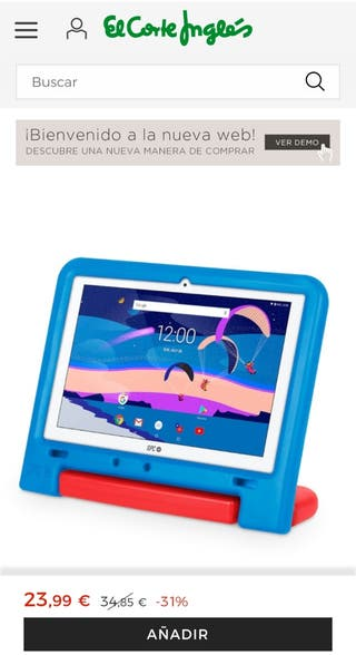 spc funda tablet niño