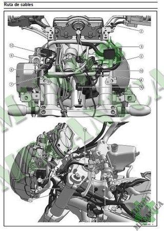Manual Taller Kawasaki Versys 650 KLE650 2006-2015
