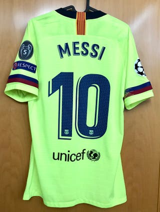 CAMISETA FC BARCELONA 2018/19 MESSI 10 MATCH ISSUE