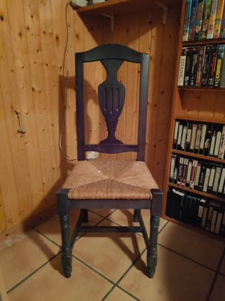 juego de seis sillas de comedor