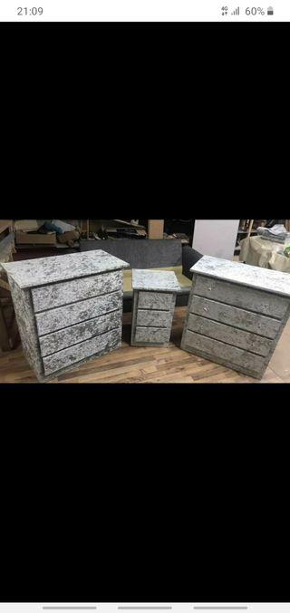 crushed velvet furniture cheap