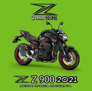 2021 NEW KAWASAKI Z900/E RESERVAS YA SE EL PRIMERO