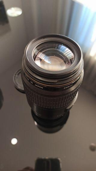 Canon 100mm f2.8 Macro Usm y Parasol