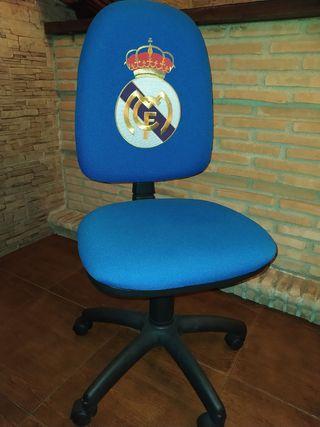 silla escritorio Real Madrid