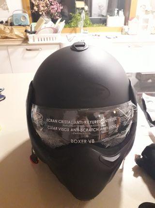 casco moto marca Roof