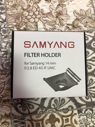 Portafiltros SAMYANG 14mm