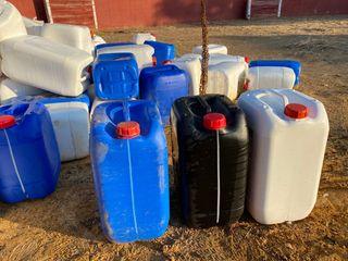Garrafa plástico 25 litros