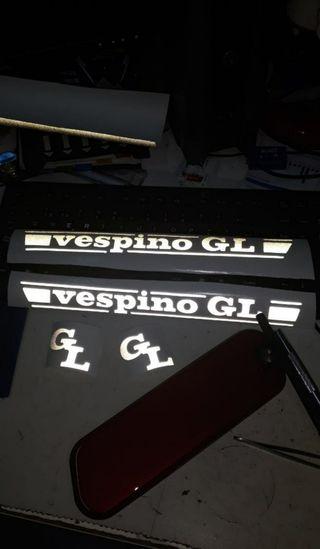 Calcas, pegatinas,adhesivos Vespino GL ,L,T,NL,GS