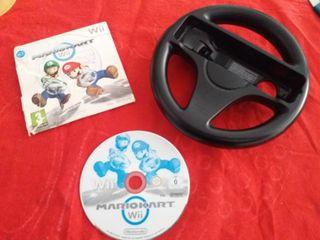 Mario kart Wii +volante original