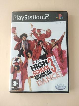 high school musical 3 fin de curso dance ps2
