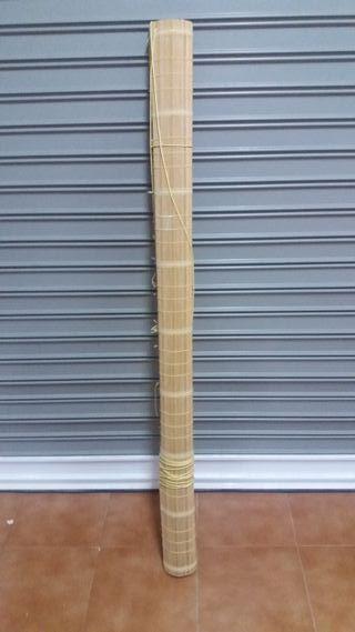 Estor de bambú enrollable