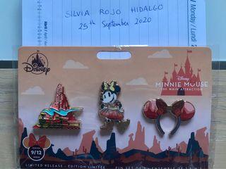 Set pins Minnie Main attraction de septiembre