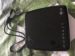 LectorLG Grabador DVD/CD USB (Externo) Portatil